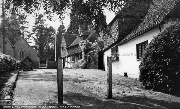 Photo of Alfold, Church Approach c.1960