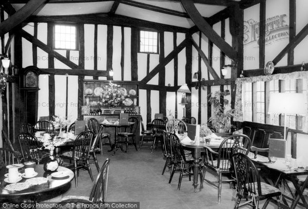 Photo of Alfold Crossways, The Barn, Dining Room c.1965