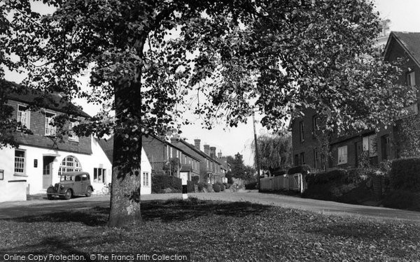 Photo of Alfold, The Village c.1950