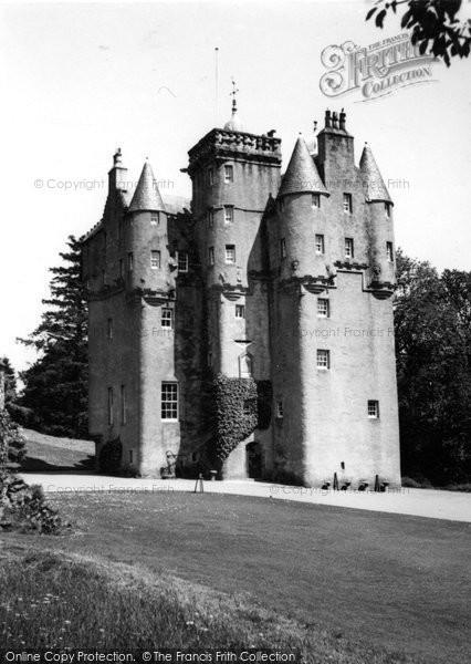 Photo of Alford, Craigievar Castle 1949