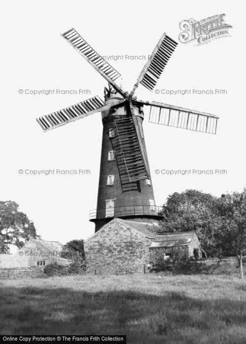 Alford,Five Sail Mill c1955,Lincolnshire
