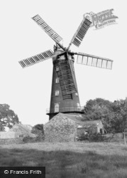 Five Sail Mill c.1955, Alford