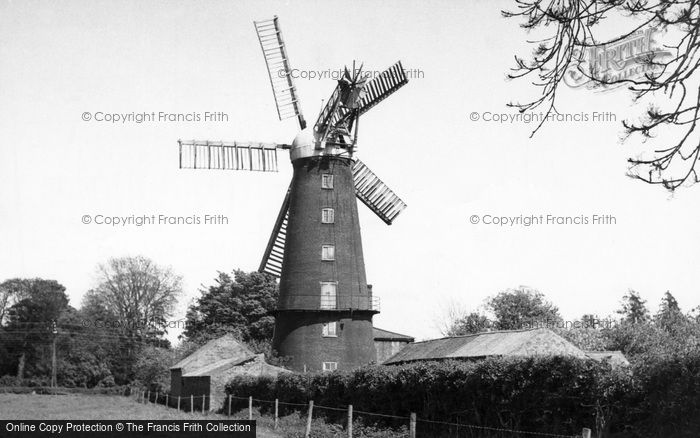 Photo of Alford, Five Sail Mill c.1960