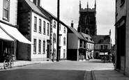 Alford, High Street c.1955