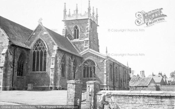 Photo of Alford, St Wilfrid's Church c.1950