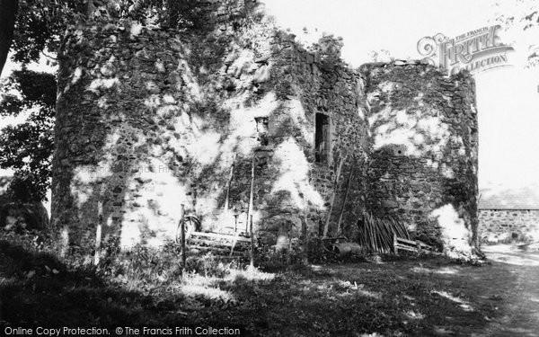 Photo of Alford, Terpersie Castle 1949