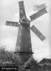 The Five Sail Mill c.1950, Alford