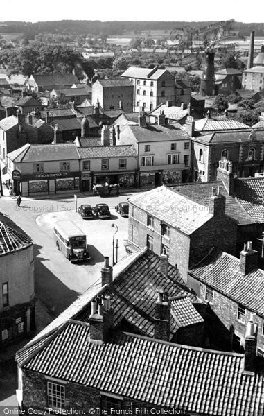Photo of Alford, The Market Place c.1950
