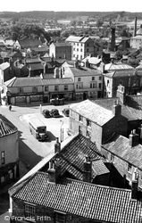 The Market Place c.1950, Alford