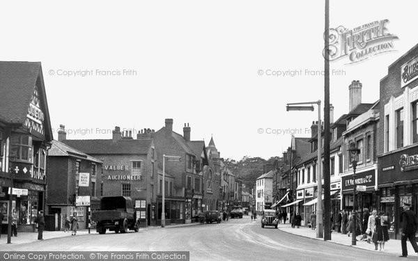 Photo of Alfreton, High Street c.1955