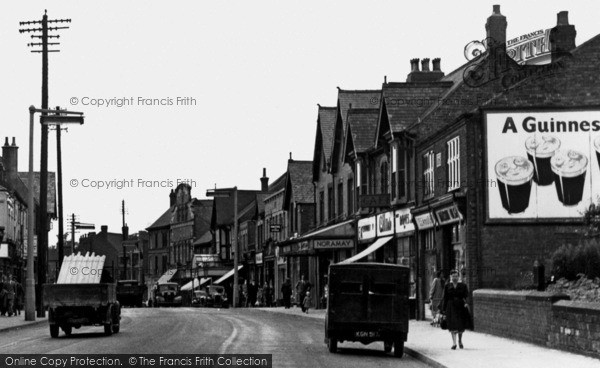 Photo of Alfreton, High Street c.1955