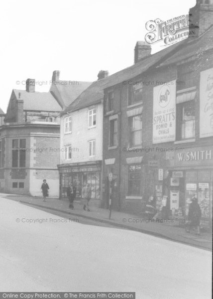 Photo of Alfreton, Shopfronts c.1965