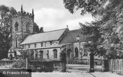 St Martin's Church c.1955, Alfreton