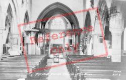 St Martin's Church, Nave c.1955, Alfreton