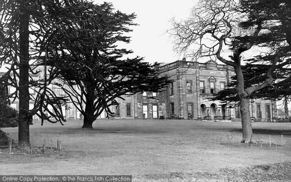 Alfreton, The Hall c.1955