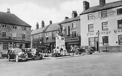 The Market Place c.1955, Alfreton