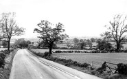 Alfreton, View From Wingfield Road c.1960