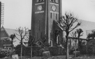 Alfreton, Watchorn Memorial Church c.1955