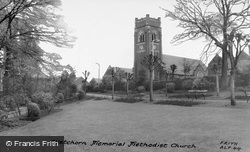 Watchorn Memorial Methodist Church c.1965, Alfreton