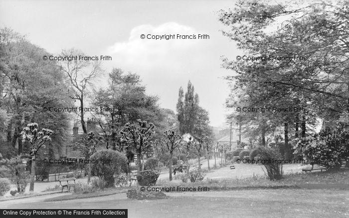 Photo of Alfreton, Watchorn Park c.1955