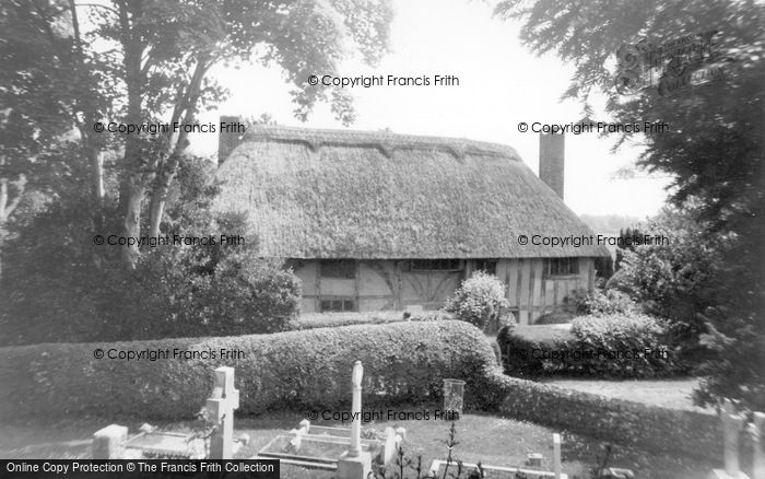 Photo of Alfriston, 14th Century Clergy House c.1960