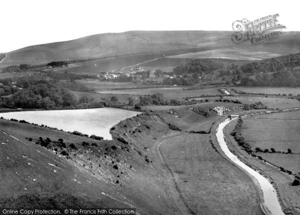 Photo of Alfriston, Cuckmere Valley c.1955