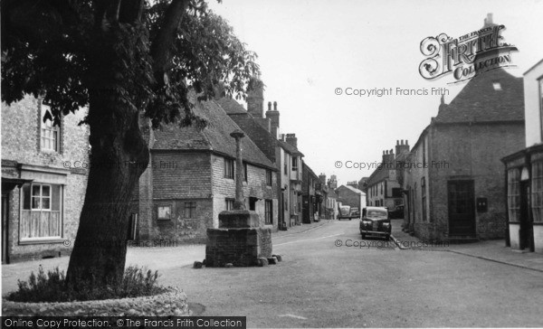 Photo of Alfriston, From The Market Square c.1960