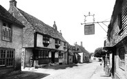 Alfriston, High Street And The Star And George Inns 1891