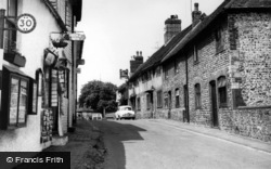 Alfriston, High Street c.1960