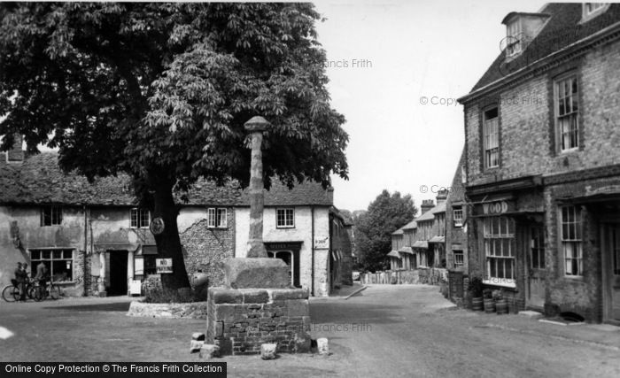 Photo of Alfriston, Market Cross c.1960
