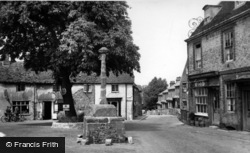 Alfriston, Market Cross c.1960