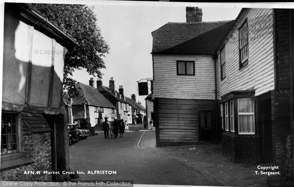 Alfriston, Market Cross Inn c.1960