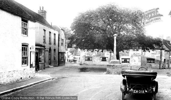 Photo of Alfriston, Market Square 1921