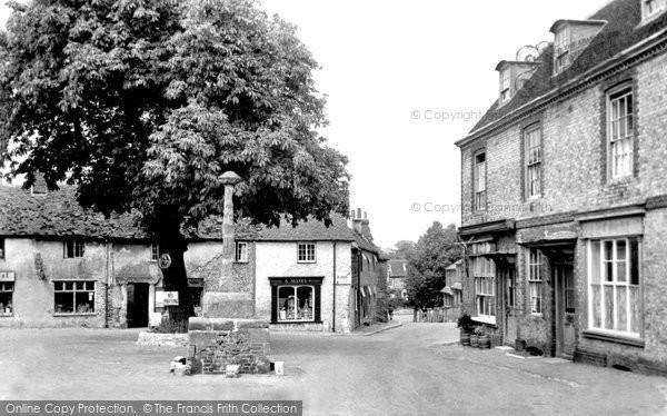 Photo of Alfriston, Market Square c.1955