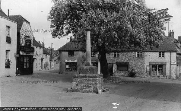 Photo of Alfriston, Market Square c.1960
