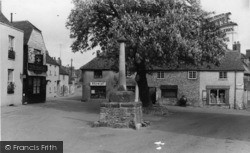 Alfriston, Market Square c.1960
