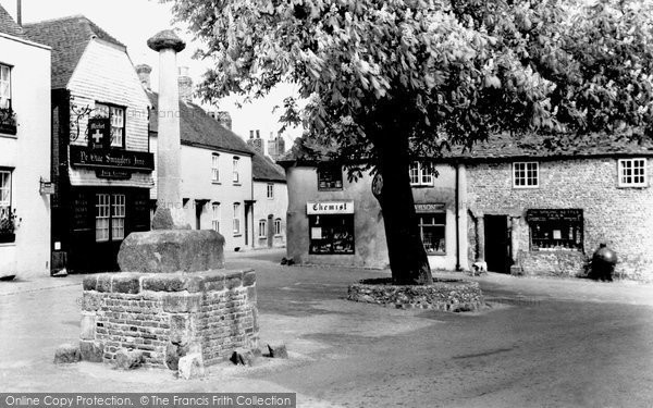 Photo of Alfriston, Market Square c.1960