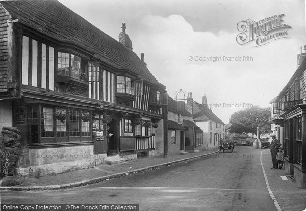 Photo of Alfriston, Olde Star Inn 1921