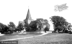Alfriston, St Andrew's Church 1891