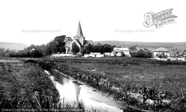 Alfriston, St Andrew's Church 1894