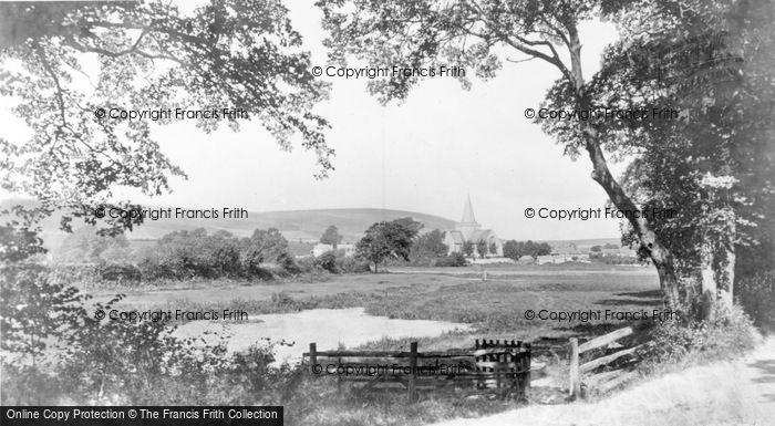 Photo of Alfriston, St Andrew's Church 1894