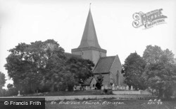 St Andrew's Church c.1955, Alfriston