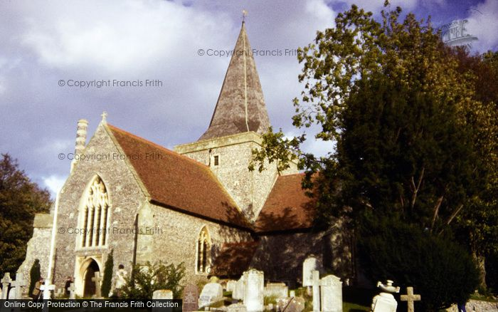 Photo of Alfriston, St Andrew's Church c.1985