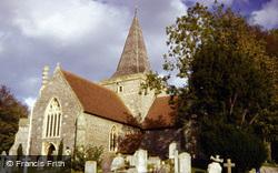 St Andrew's Church c.1985, Alfriston