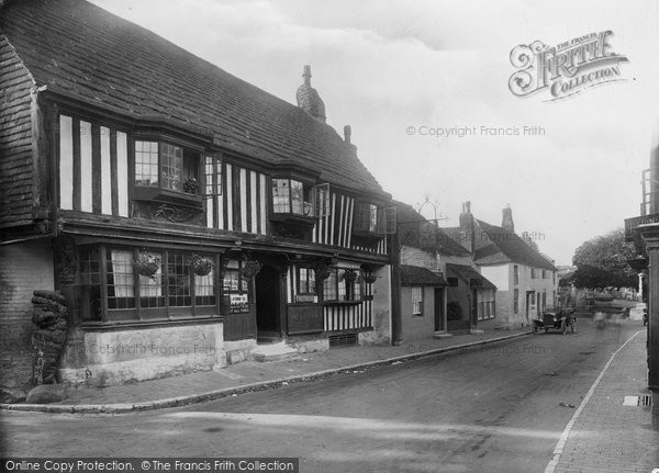 Photo of Alfriston, Star Inn 1921