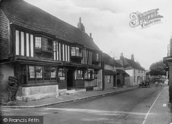 Alfriston, Star Inn 1921