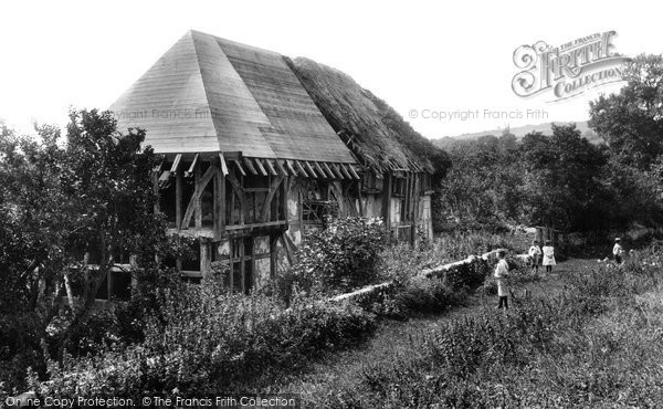 Photo of Alfriston, the Clergy House 1896, ref. 34494