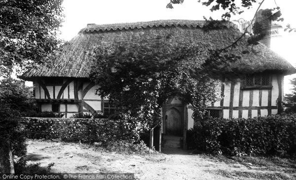 Photo of Alfriston, the Clergy House 1921, ref. 71427