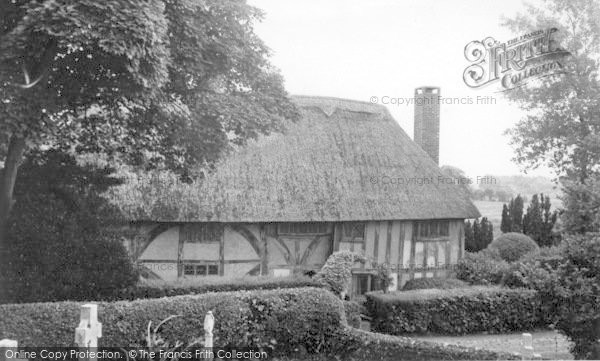 Photo of Alfriston, The Clergy House c.1955