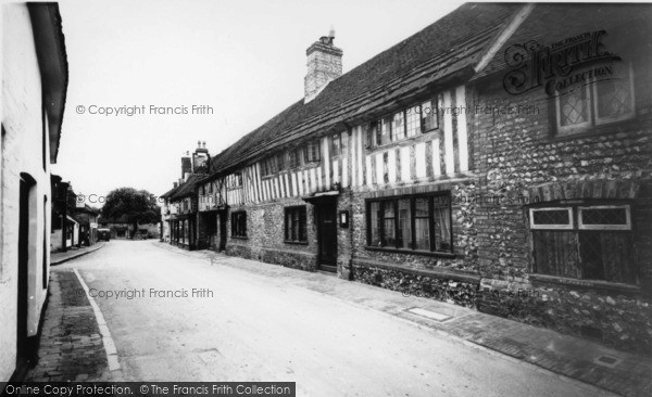 Photo of Alfriston, The George Inn, High Street c.1960